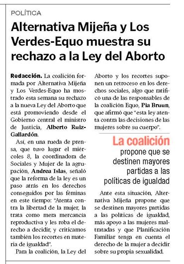 r.pr. Rexazo lei del aborto