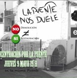 CONCENTRACIÓN por LA PUENTE: Jueves 9 mayo