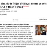 """Kaos en la Red: """"El alcalde de Mijas (Málaga) monta en cólera contra el SAT y Huan Porrah"""""""