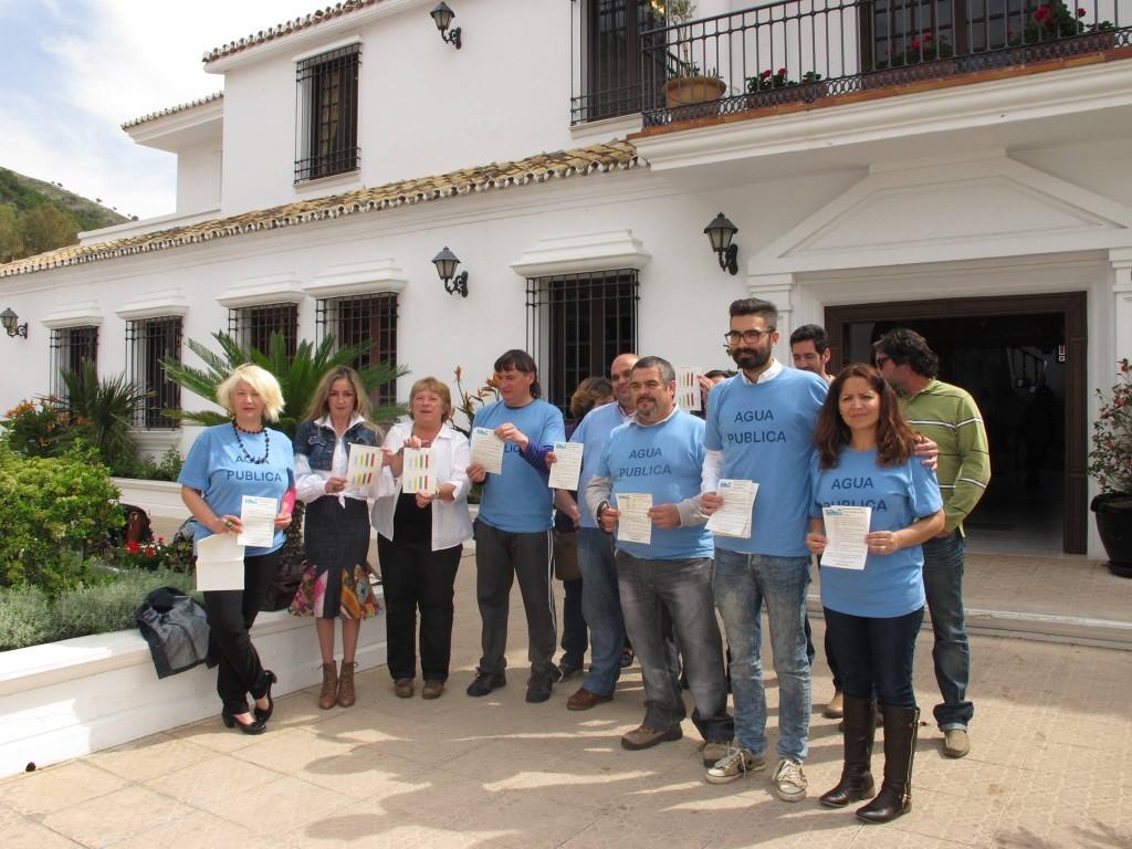 Prezentazion Plataforma miheña por Agua publika 11-4-14