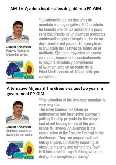 06-2013 MS AM+LV-Q valora los dos años de gobierno PP-GIM