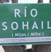 Nota de prensa AM+Equo sobre el nombre del río miheño y demás cauces