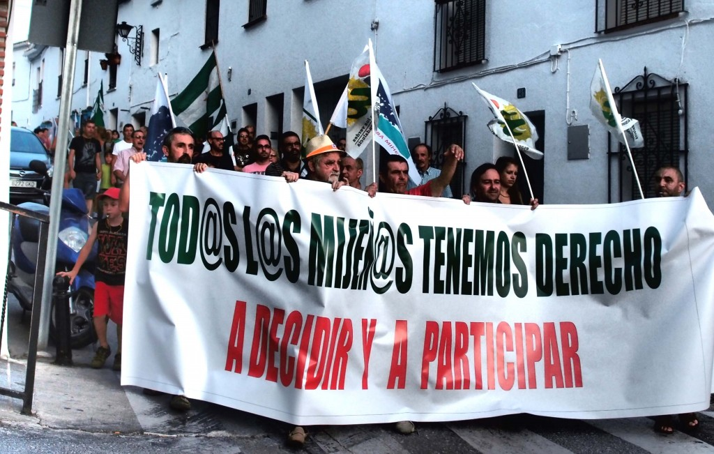 Manifestacion Mijeñ@s por el derecho a participar-1a