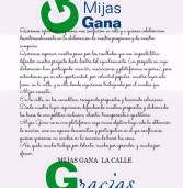 MIJAS GANA: Comunicado post-electoral