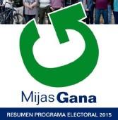 PROGRAMA ELECTORAL 2015 DE MIJAS GANA