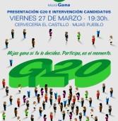 Presentación de la Campaña G20 en Miha-pueblo