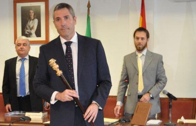 Juan Carlos Maldonado con garrote