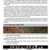 El Alternativo #3 Consigue el nuevo número de El Alternativo -boletín informativo de Alternativa Mijeña-  con actividades del partido, Encuentros con la Gente, Agenda, y Artículos Libres.