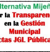 Alternativa Mijeña por la transparencia en la gestión municipa