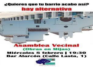 Asamblea Vecinal | Obras en Mijas