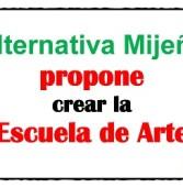 """Alternativa Mijeña propone crear la """"Escuela de Arte"""""""