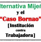 Alternativa Mijeña muestra su apoyo a la trabajadora del Club Polideportivo Mijas Miriam Bornao