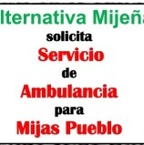 Pleno 2018 04 Alternativa Mijeña solicita ambulancia para Mijas