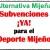 Subvenciones ¡YA! para el Deporte Mijeño [Pleno 2018 07]