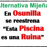 "En Osunilla se reestrena ""Esta Piscina es una Ruina"" [Pleno 2018 07]"