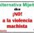 Alternativa Mijeña dice ¡NO! a la violencia machista