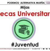 PODEMOS•ALTERNATIVA MIJEÑA Junto a la juventud universitaria mijeña