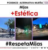 PODEMOS·ALTERNATIVA MIJEÑA Denuncia otra profanación estética en Mijas