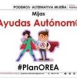 Junto a las autónomas/os y empresas de Mijas