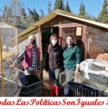 Junto a las Asociaciones Protectoras de Animales.