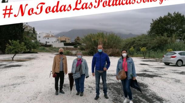Solicitamos parque público y parque canino en El Lagarejo.